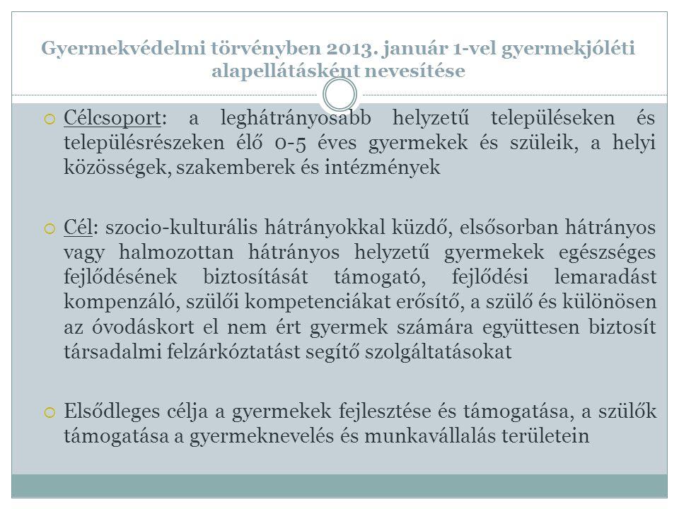 Gyermekvédelmi törvényben 2013.