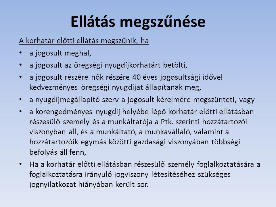 Tny.22/A. § szerinti növelésre jogosultság Aki 2012.