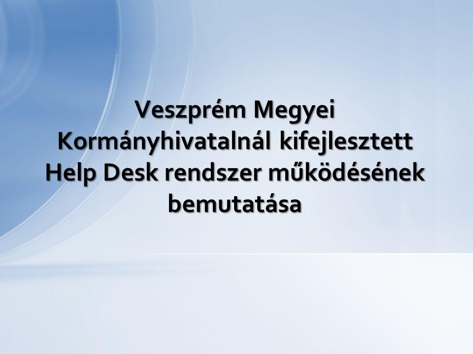 A Kormányhivatalok létrejöttével, a szakigazgatási szervek funkcionális informatikai működtetését újra kell szervezni; Nem minden szakigazgatási szervnél van informatikus; Az informatikai főosztályra érkező feladatok hatékonyabb feldolgozása vált szükségessé; Informatikai vezetői rendszer szükségessége (dolgozók szakmai ellenőrzése, szükség esetén beavatkozás) Előzmény: