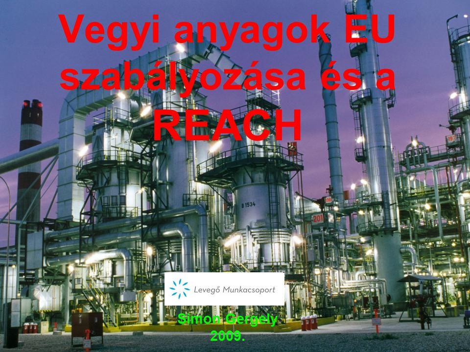 A REACH A REACH szerint a 11 év alatt bevizsgálnák a leggyakrabban használt 10 (30) ezer anyagot és a legveszélyesebbeket betiltanák.