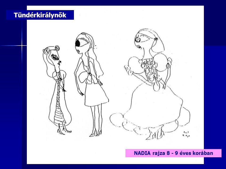 Tündérkirálynők NADIA rajza 8 - 9 éves korában