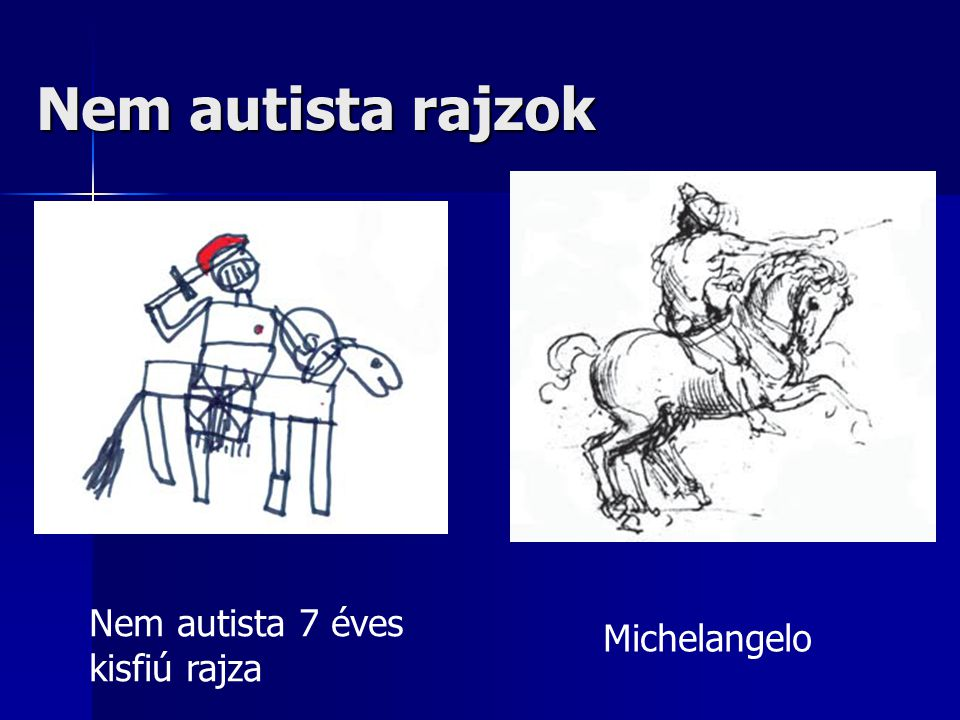 Nem autista rajzok Nem autista 7 éves kisfiú rajza Michelangelo