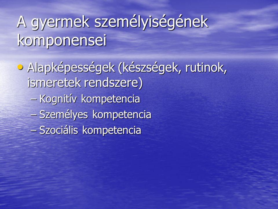 Alapismeretek Alapismeretek –Szimbólumokkal megvalósult leképezés –Gondolatháló (működő pszichikus rendszer) –Dolgokra vonatkozó ismeretek (alapfogalom, alapelv, törvény) Ezek rendszerré fejlődése a világnézet (világkép).