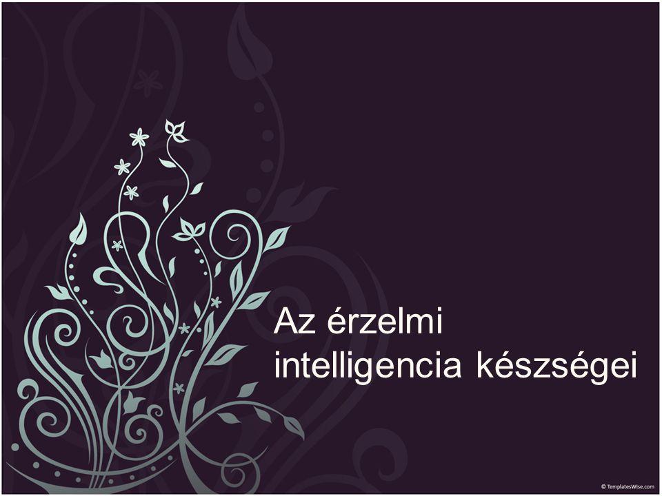 Az érzelmi intelligencia készségei