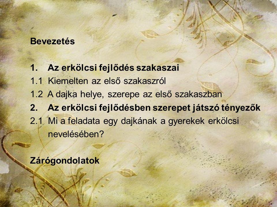 """HTK Labáth Ferencné2 Mottó: """"Szép és fönséges a dajkák hivatása, de fontosak az ő kötelességeik is…"""" ( Majer István )"""