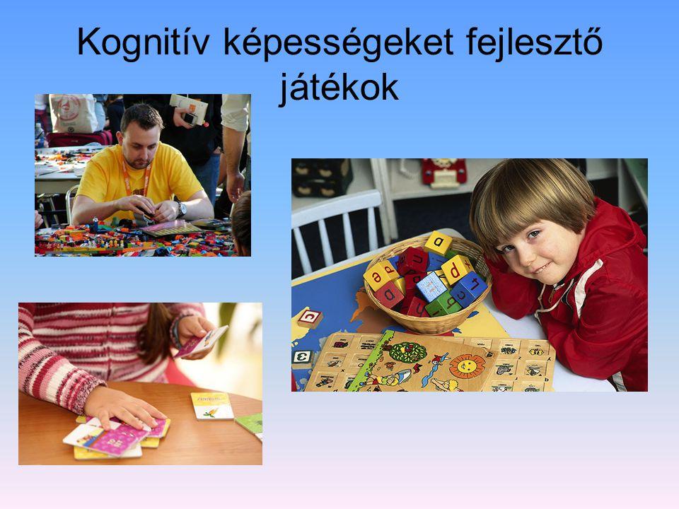 Kognitív képességeket fejlesztő játékok