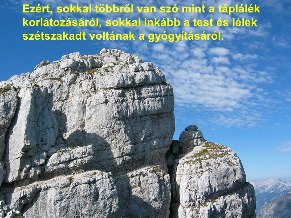 A cél a szabadság, az az állapot, mely túllendít a különböző korlátokon, amik fogva tartanak.