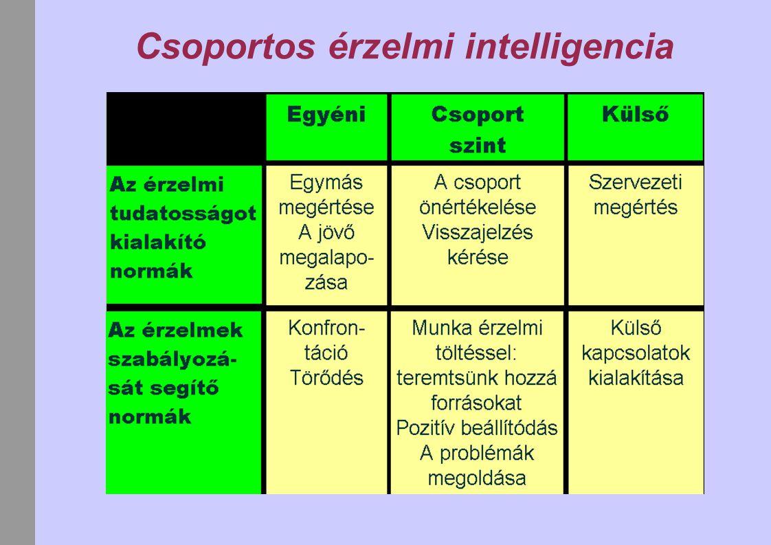 Csoportos érzelmi intelligencia
