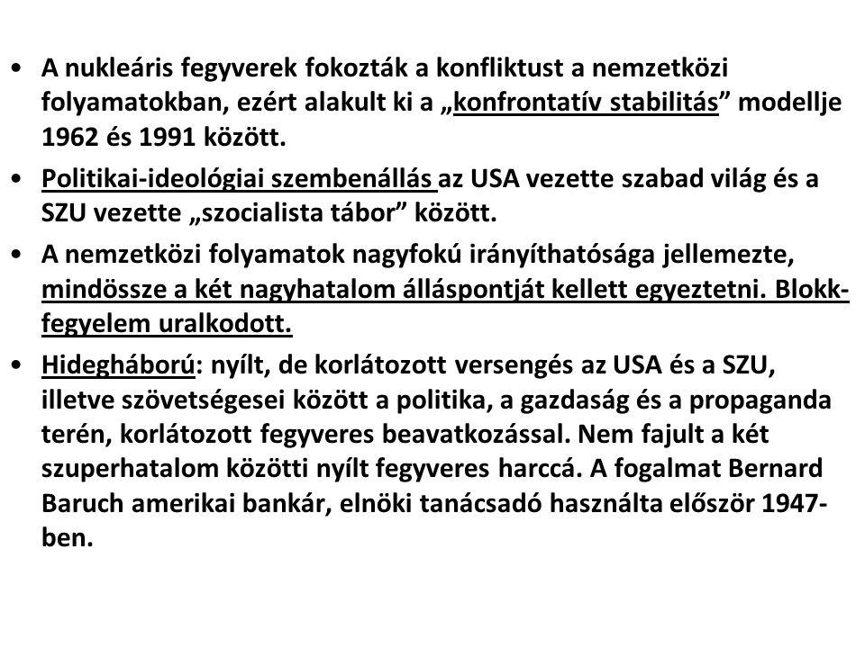 EURÓPA-POLITIKÁK A II.