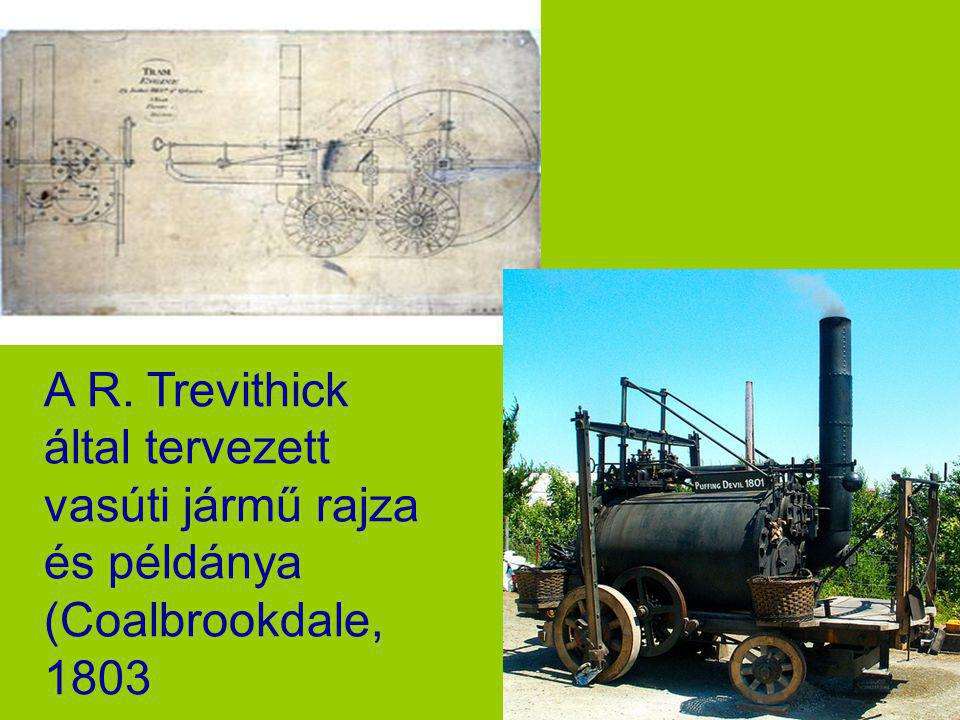 1803 Trevithick London Steam Carriage Technical Data. The engine is a high pressure simple expansion steam engine with feed water pump, heater and ste