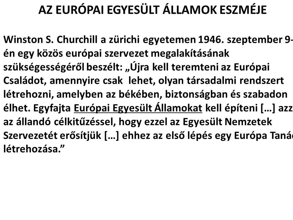 EURÓPAI POLITIKAI EGYÜTTMŰKÖDÉS (EPC) Hágai csúcs (1969).