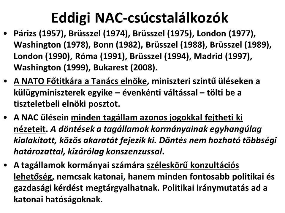 Védelmi Tervező Bizottság A védelmi miniszterekből áll.