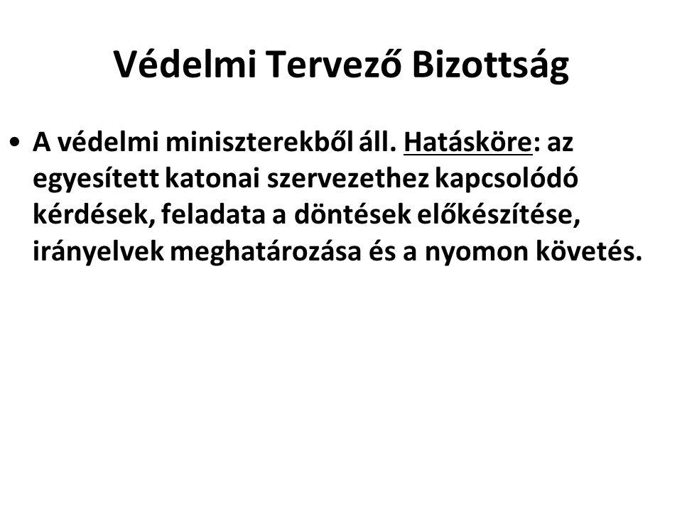 Nukleáris Tervező Csoport 1966.december 14-én hozta létre a VTB, tagjai a védelmi miniszterek.