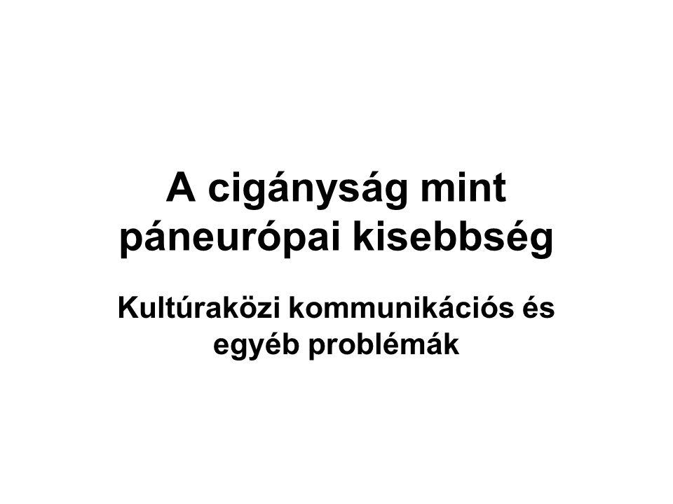 Cigány szavak a magyarban.