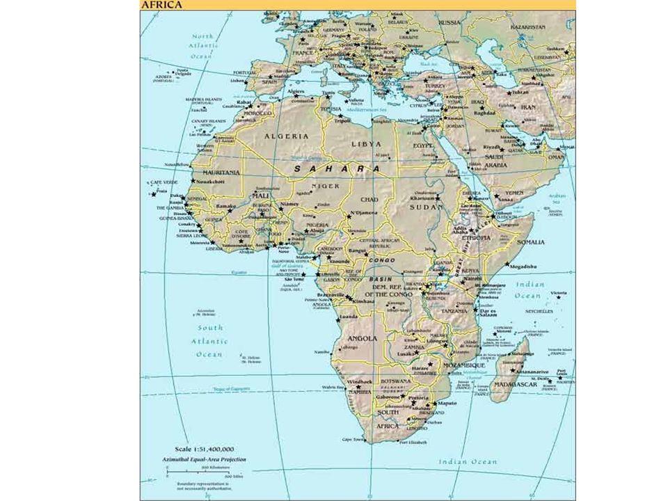 54 ország Népesség: 900 millió GDP (PPP): 1.635 milliárd dollár GDP: 558 milliárd dollár GDP/fő: 671 dollár 23 országban alacsonyabb, mint 1970-ben.