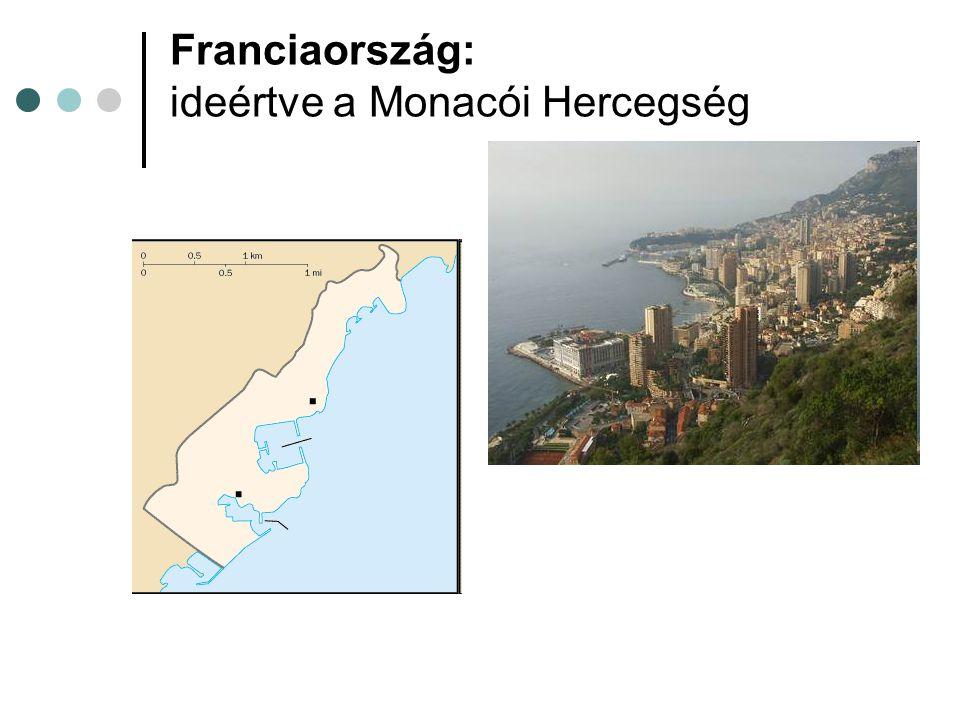 Franciaország: ideértve a Monacói Hercegség