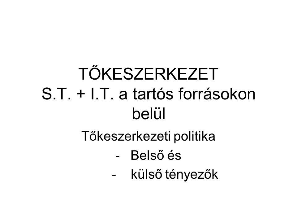 TŐKESZERKEZET S.T. + I.T.