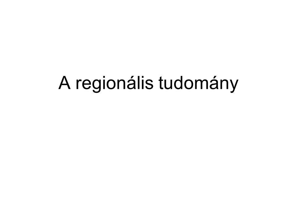 A regionális tudomány