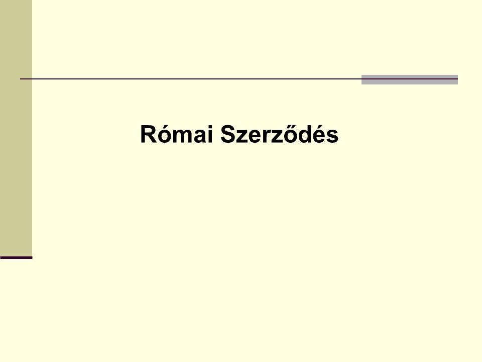 Római Szerződés