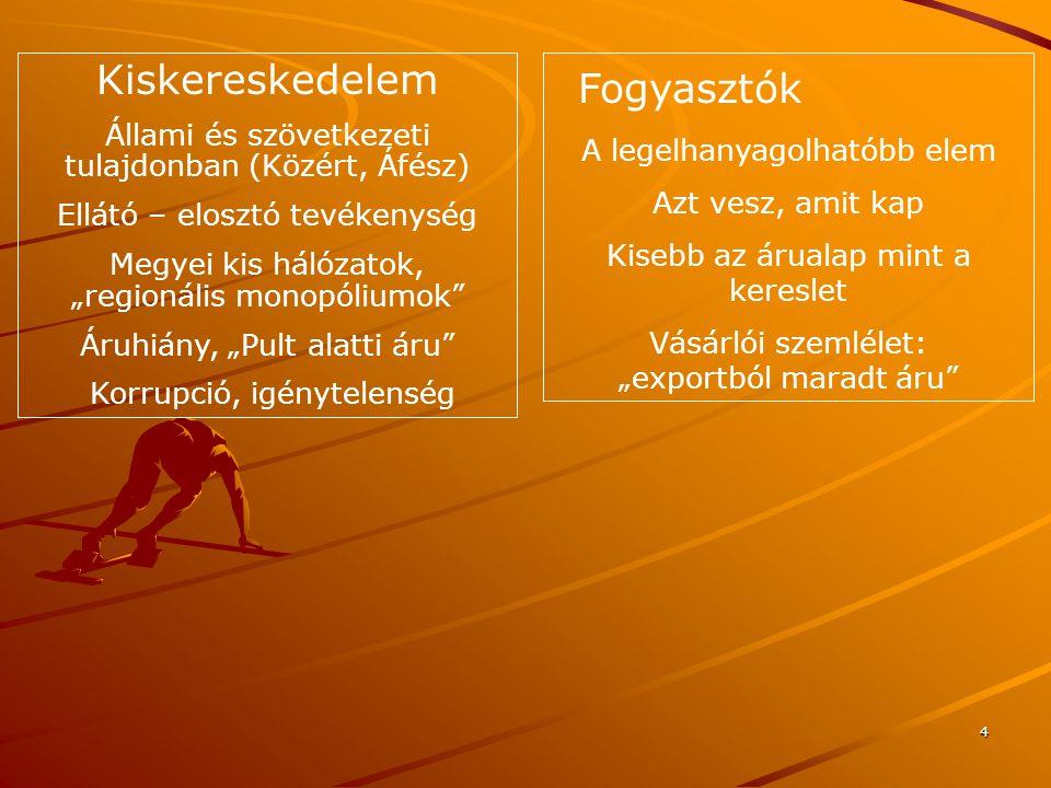 15 Horizontális szövetség A potenciális versenytársak közötti együttműködés Cél: kutatás – fejlesztés, ágazati marketingstratégia, szakmaközi szervezetek a multinacionális hálózatokkal szemben Vertikális szövetség Szállító – vevő együttműködés Cél: az információs aszimmetriából és az erőforrás függőségből adódó konfliktusok kiküszöbölése, a hatékonyság növelése Diagonális szövetség Egymástól független vállalkozások együttműködése Cél: közös marketing akciókkal egymás forgalmának növelése, logisztikai együttműködés Az ellátási lánc tagjainak együttműködése