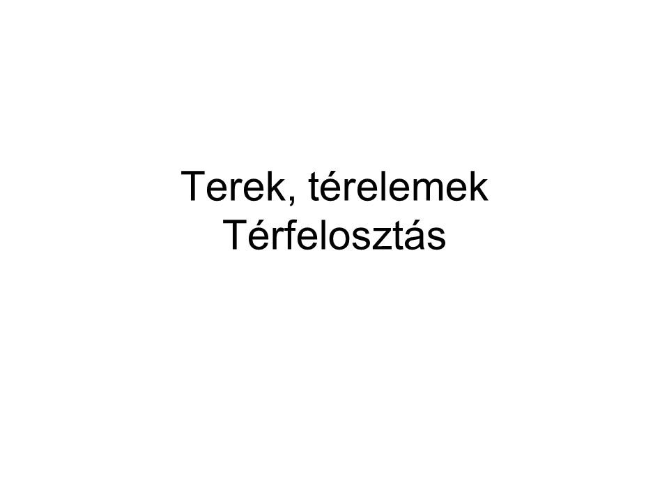 Forrás: Enyedi, in: Magyar Tudomány 2004/9 Magyarország hármas térszerkezete