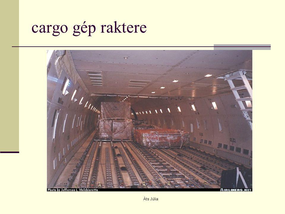 cargo gép raktere