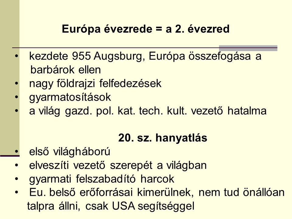Európa évezrede = a 2.