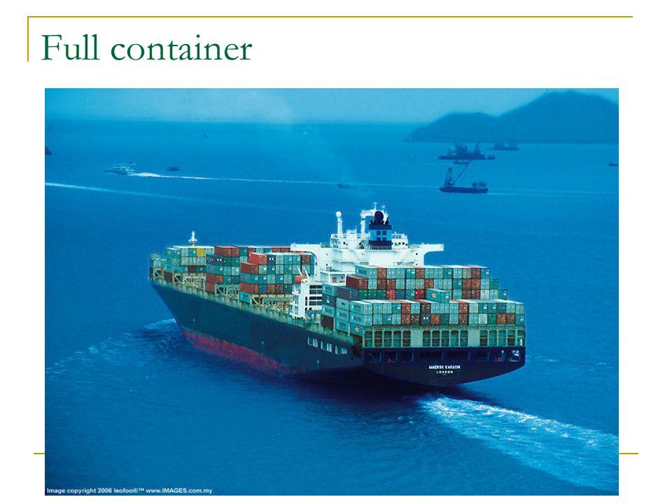 Full container