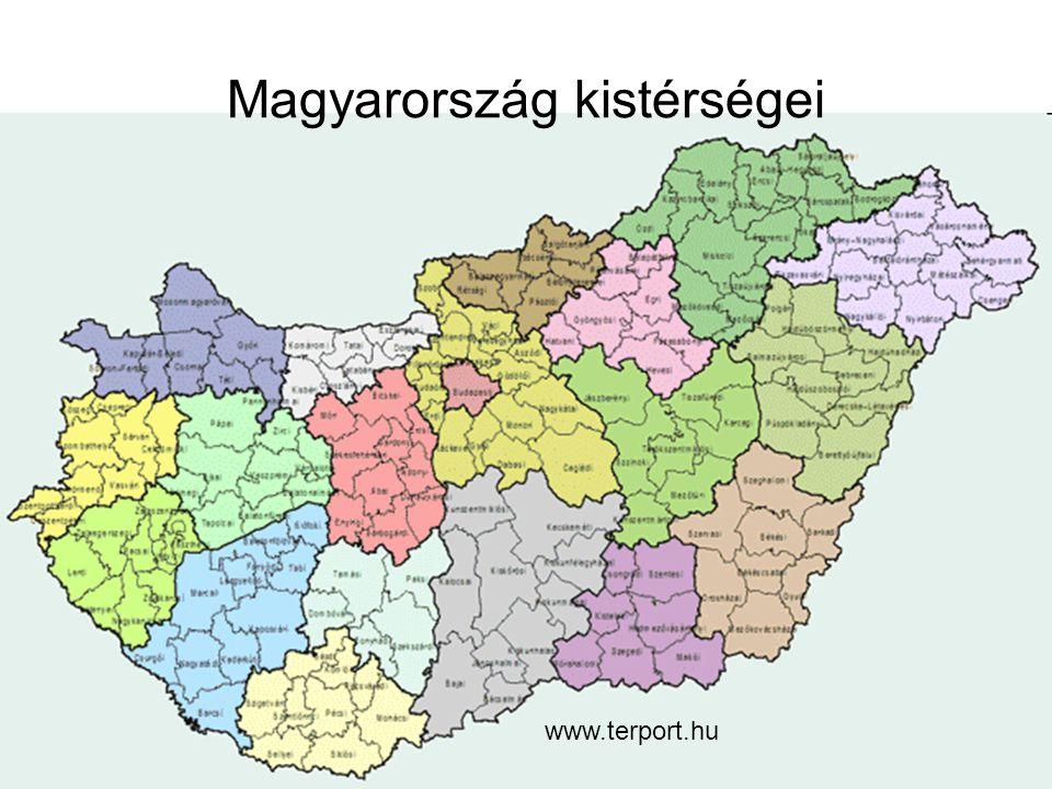 Magyarország kistérségei www.terport.hu