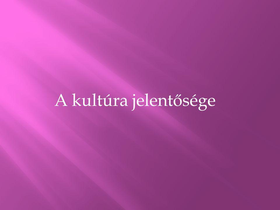 A kultúra Magyarországon