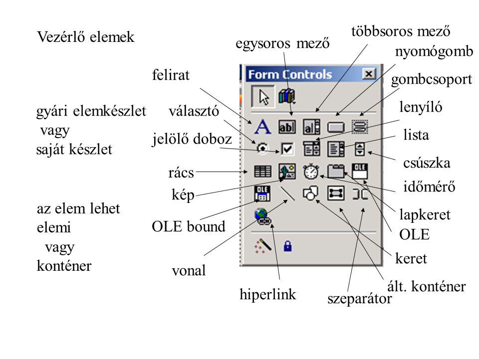 Objektum mechanizmus hatása struktúrakezelő eljárások osztály objektum öröklés elrejtés (védelem)