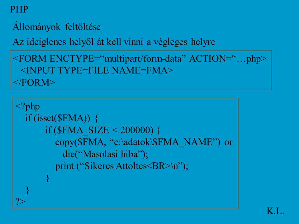 PHP K.L.