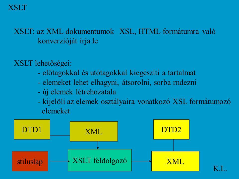 XSLT K.L.