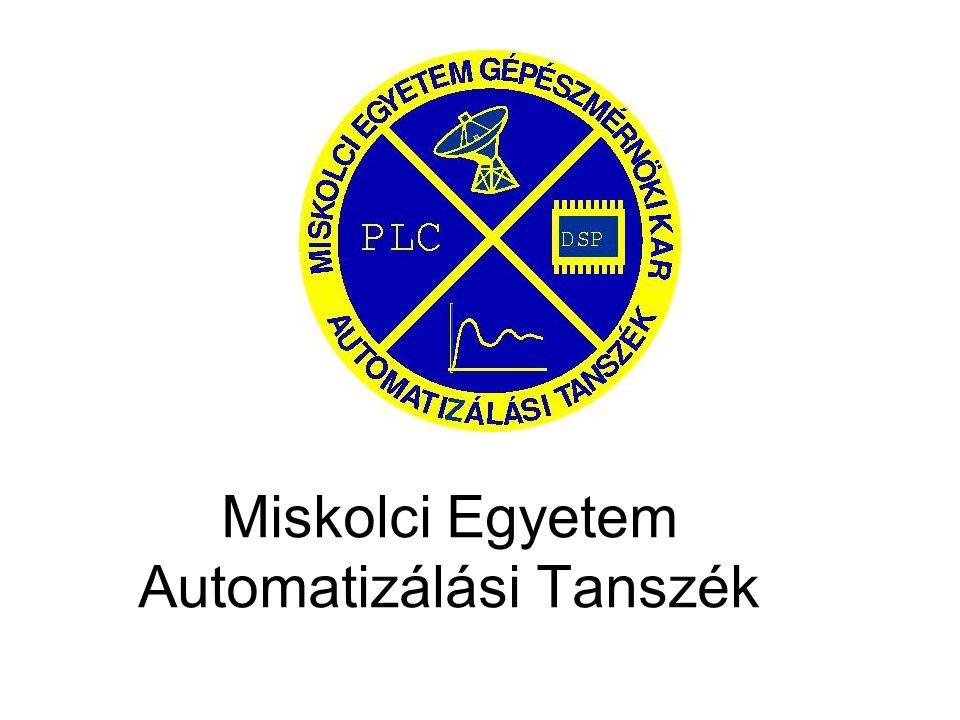 Miskolci Egyetem Automatizálási Tanszék