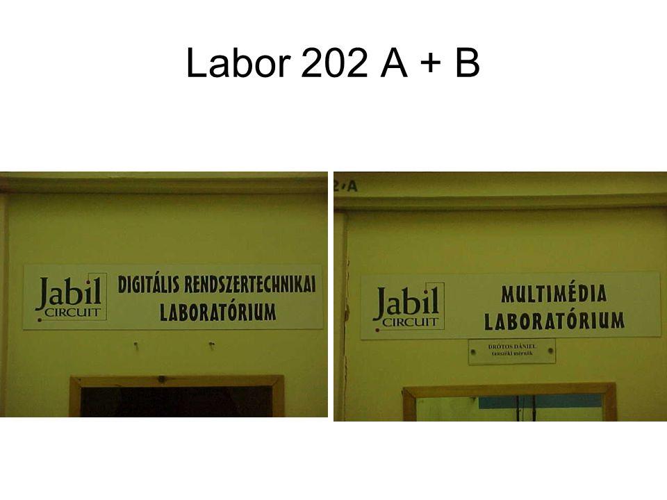 Labor 202 A + B