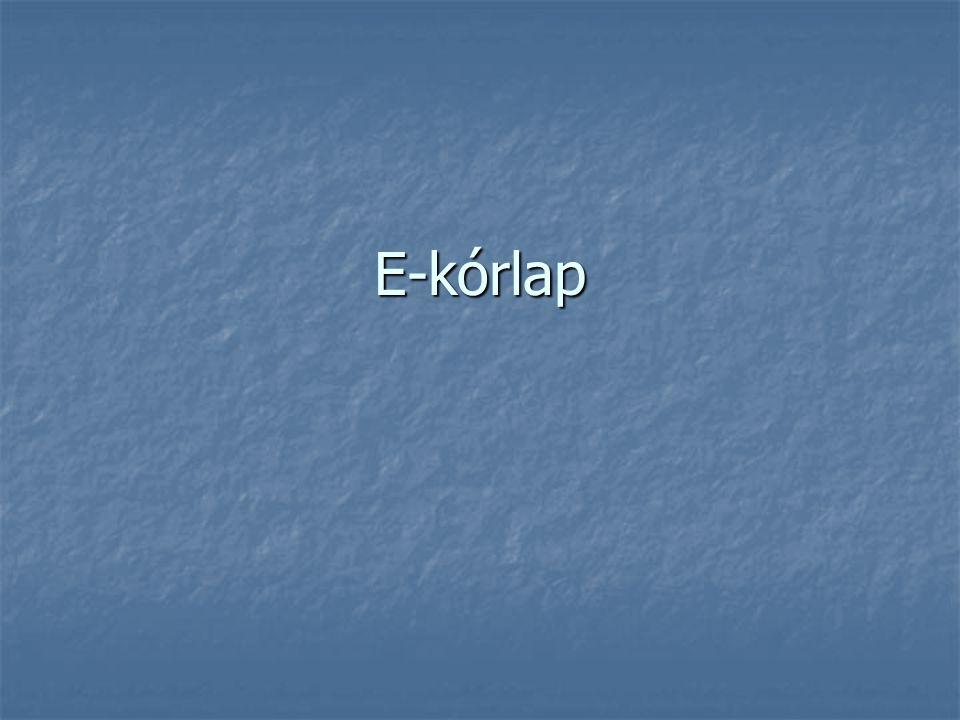 E-kórlap