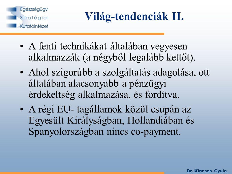 Dr. Kincses Gyula Világ-tendenciák II.