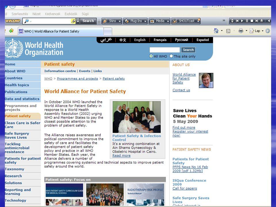 NEVES (= NEm Várt ESemények) Betegbiztonsági Program  http://hsmtc.hu/site/kutatas/neves http://hsmtc.hu/site/kutatas/neves