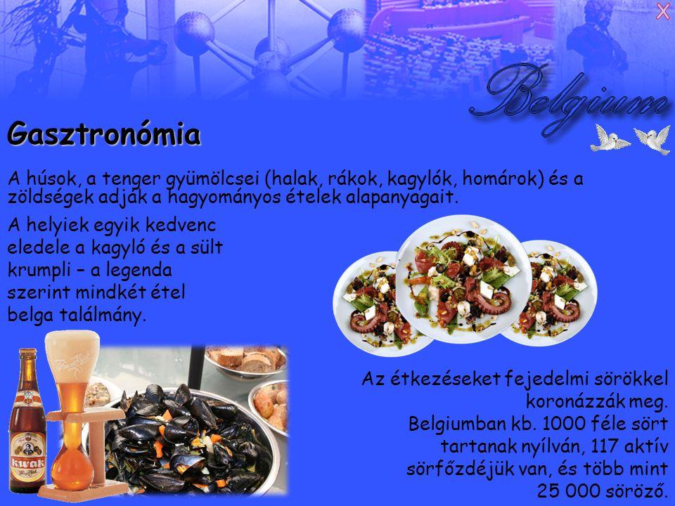 Gasztronómia A húsok, a tenger gyümölcsei (halak, rákok, kagylók, homárok) és a zöldségek adják a hagyományos ételek alapanyagait.
