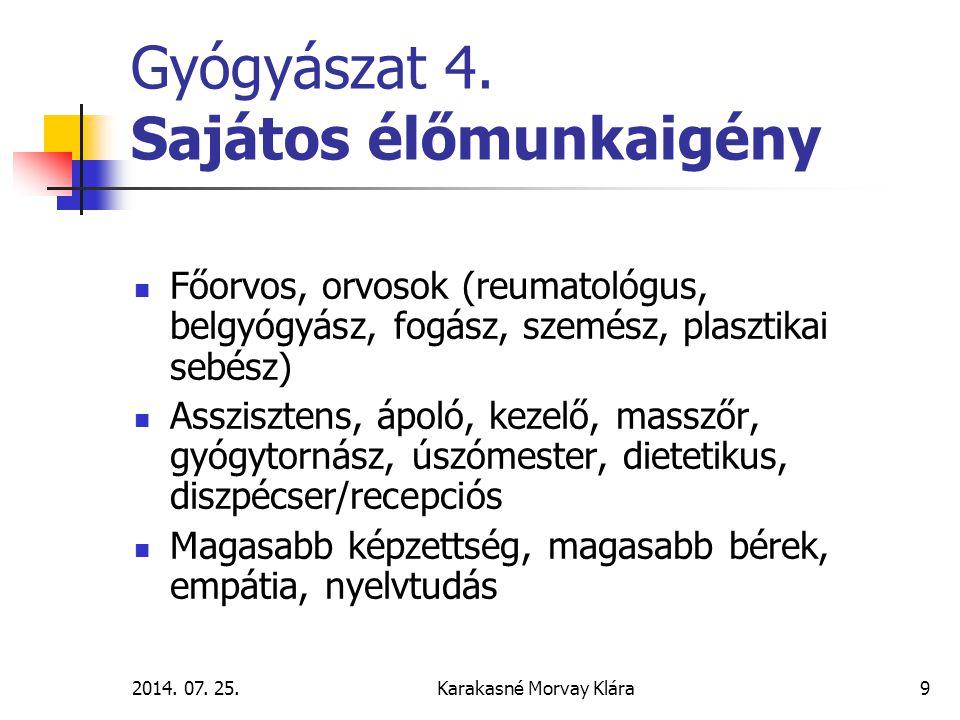 2014.07. 25.Karakasné Morvay Klára10 Gyógyászat 5.