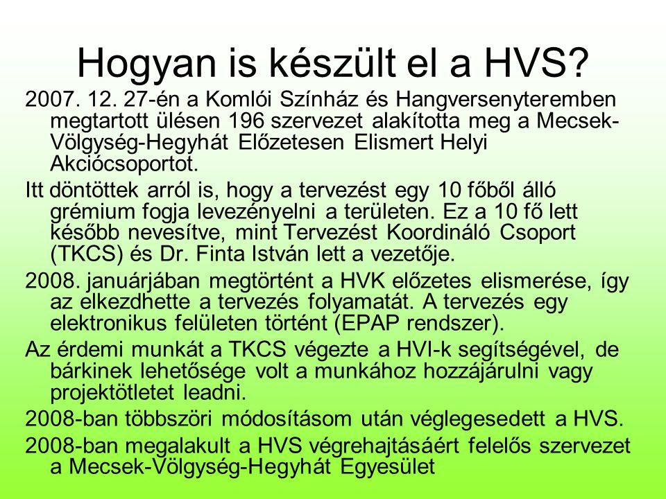 Mit tartalmaz a HVS.
