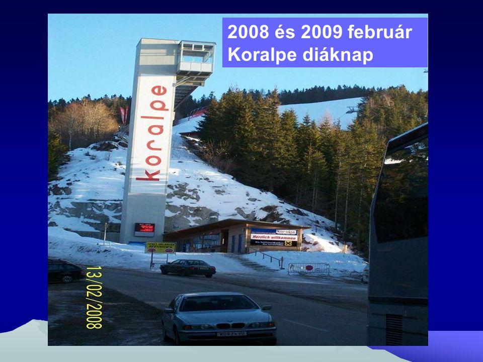 2008 és 2009 február Koralpe diáknap