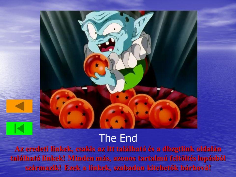 The End Az eredeti linkek, csakis az itt található és a dbzgtlink oldalán található linkek.