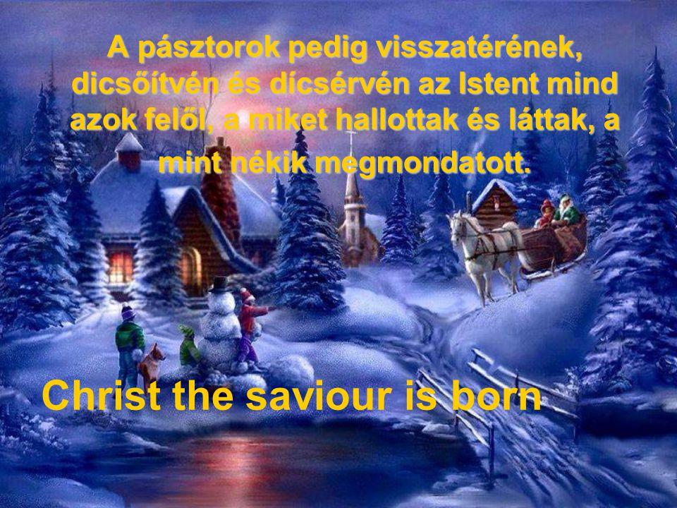 Mária pedig mind ez ígéket megtartja, és szívében forgatja vala. Heavenly hosts sing alleluia