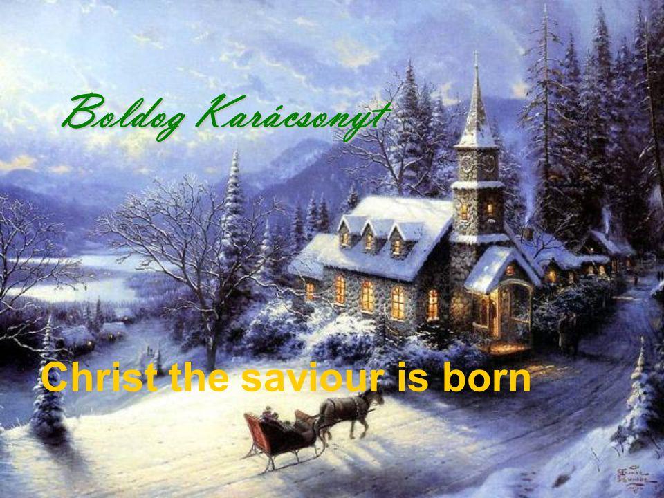 A pásztorok pedig visszatérének, dicsőítvén és dícsérvén az Istent mind azok felől, a miket hallottak és láttak, a mint nékik megmondatott. Christ the