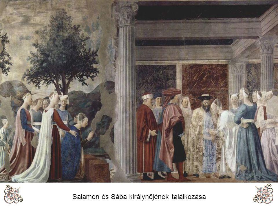 Salamon és Sába királynőjének találkozása