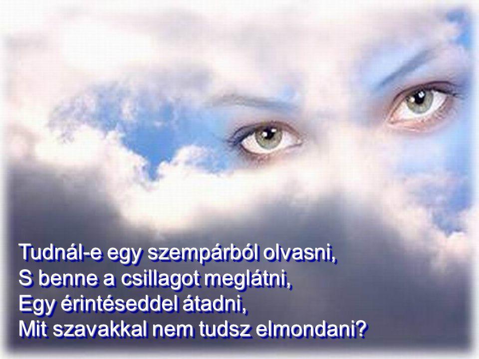 Mondj igent, … s akkor talán a boldogság egyszer majd rád talál… Életed gyönyör lesz, s csodás újjászületés a halál. s akkor talán a boldogság egyszer