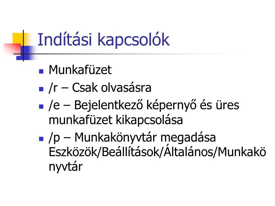 Külső hivatkozások Munka1!A1 C:\..\Munafüzet.xls!Munka1!A1