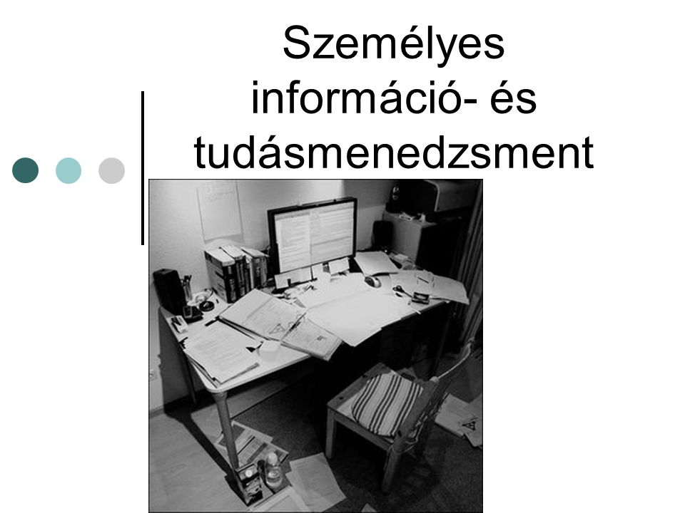 Személyes információ- és tudásmenedzsment