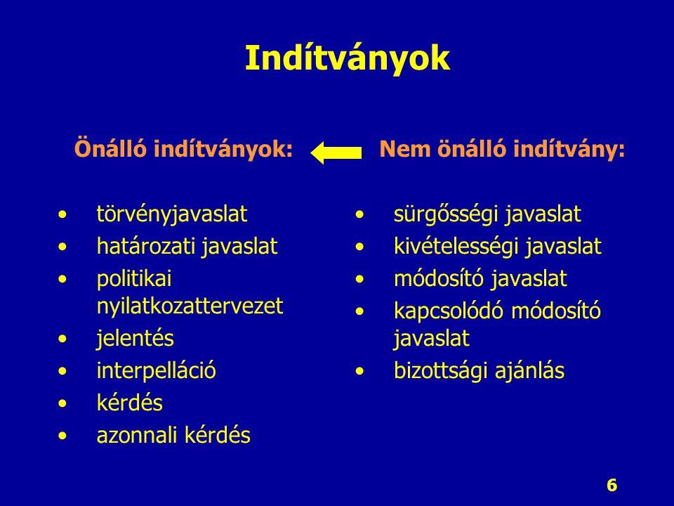17 A Kormány szervezete Kormány, mint testületi szerv Kormány szervei Miniszterelnök Miniszterek Több, mint első az egyenlők között Tárcavezető Tárcanélküli Miniszterelnöki Hivatalt vezető